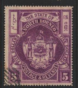 North Borneo Sc#72 Used
