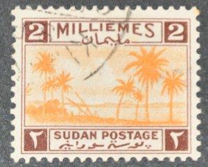 DYNAMITE Stamps: Sudan Scott #64  – USED