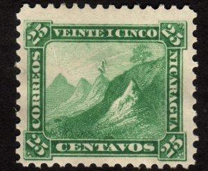 1869 Nicaragua 25c, MH, Sc 7