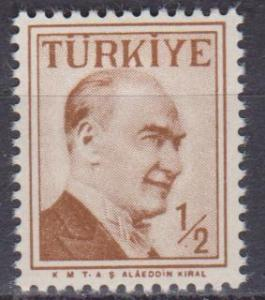 Turkey #1264  MNH VF  (ST1484)