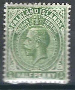 Falkland Is 30 SG 60 MHR VF 1912 SCV $3-00