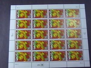 U.S.# 3370-MINT/NEVER HINGED-- PANE OF 20----CHINESE LUNAR NEW YEAR---2000