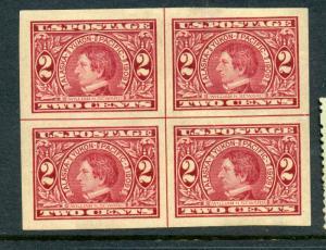 Scott #371 Seward Mint Imperf Center Line Block (Stk #371-103)