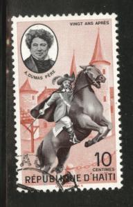HAITI Scott 473 used 1961 cto stamp