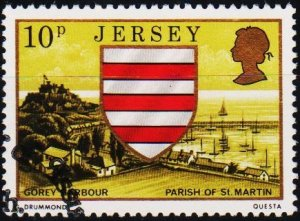 Jersey. 1976 10p S.G.144 Fine Used