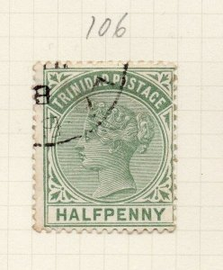 Trinidad 1883 Early Issue Fine Used 1/2d. 284514
