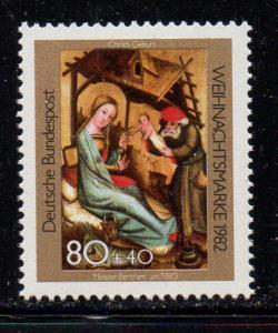 Germany Sc B604 1982 Christmas stampmint NH