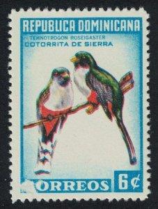 Dominican Rep. Trogons Birds 6c 1965 Def SG#931