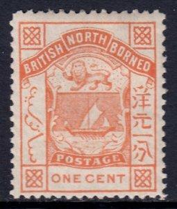 North Borneo - Scott #26 - MH - SCV $2.25