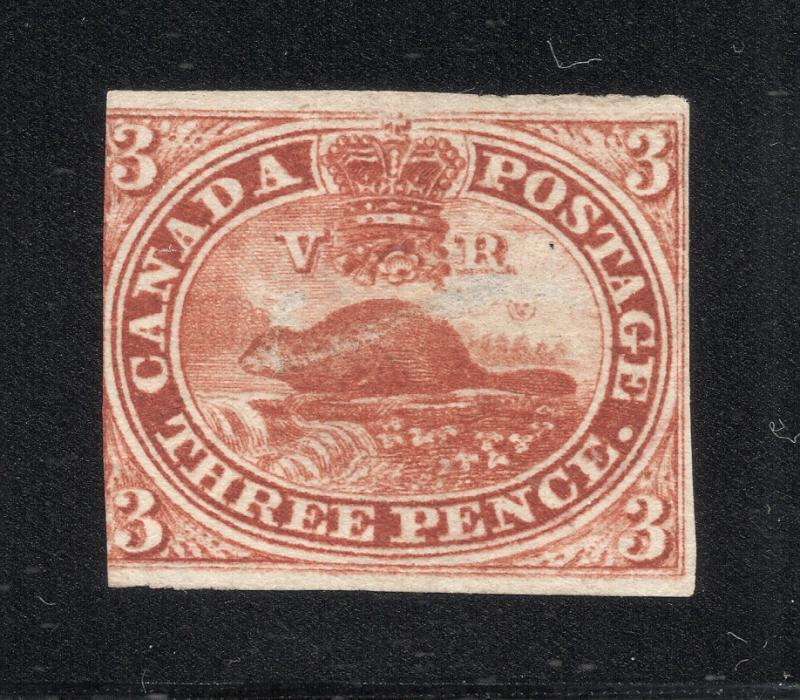 Canada #4 Red - Used w/Cleaned Cancel
