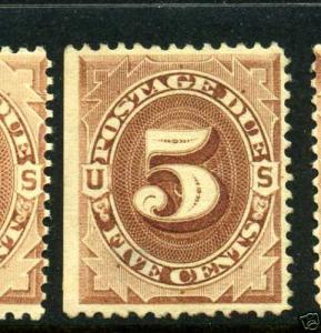 J4  Postage Due Mint Stamp  (Stock #J4-13)