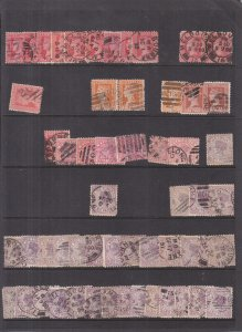 Australia: Victoria: Lot of Used Stamps, Much Duplication, (S18151)