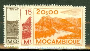 P: Mozambique 305-324 mint CV $70; scan shows only a few