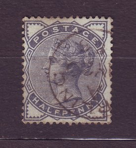 J23504 JLstamps 1883-4 great britain used #98 queen
