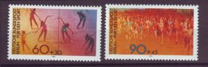 J20764 Jlstamps 1981 berlin germany set mnh #9nb180-1 sports