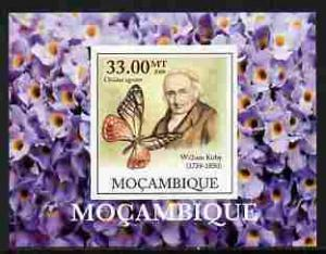 Mozambique 2009 Butterflies William Kirby Deluxe s/s Mint (NH) #3