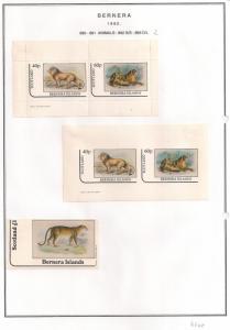 SCOTLAND - BERNERA - 1982 - Animals (2) - 2v Perf, Imp, Min, Sheets - MLH