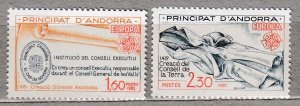 ANDORRS FR. 1982 Europa CEPT MNH(**) Sc 294-295 #HS200