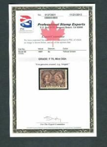 Canada #55 6c Jubilee Mint -  PSE CERTIFIED  cv$230.00