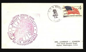 US - 3 1960s Polar Expedition Covers (IV) - Z16047
