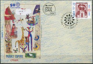 Serbia 2019. Picture by Anđela Marjanović (Mint) First Day Cover