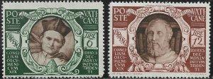 Vatican City Special Delivery Stamp Set - Scott #E9-E10/SD3 OG Mint/LH 1946