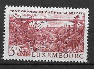 Luxembourg 1966 Grand Duchess Charlotte Bridge MNH**