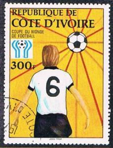 Ivory Coast 470 Used Soccor (BP0771)