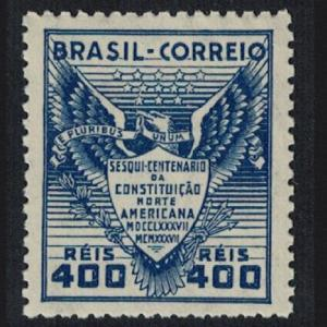 Brazil Eagle Bird 150th Anniversary of US Constitution SG#609