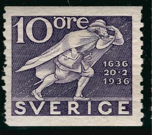 Sweden SC #252  Mint VF SCV $1.75 Very Nice!