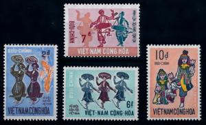 [65383] Vietnam South 1971 Traditional Dance Music Costumes  MNH