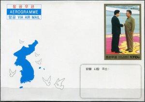 Korea 2007. Korean Summit, Pyongyang (Mint) Aerogram