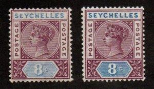 Seychelles 6a Mint Hinged