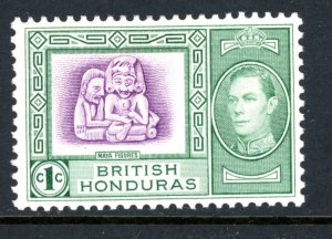 British Honduras 115 MH 1938