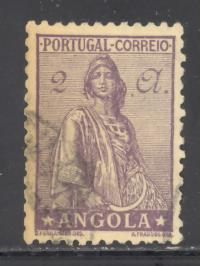 Angola Sc # 259 used (RS)