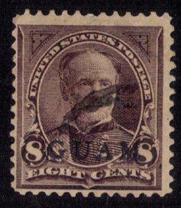 US Guam Scott #7 (1899) Used F-VF Cat. $200.00