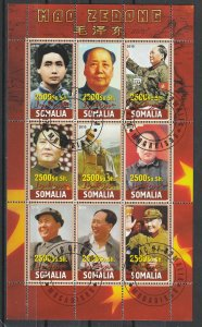 Somalia S/S Used China Chairman Mao Zedong 2010
