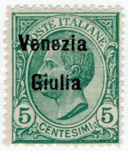 (I.B) Austria Postal : Occupation of Italy 5c overprint (Venezia-Giulia)