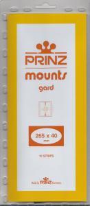 PRINZ CLEAR MOUNTS 265X40 (10) RETAIL PRICE $9.50