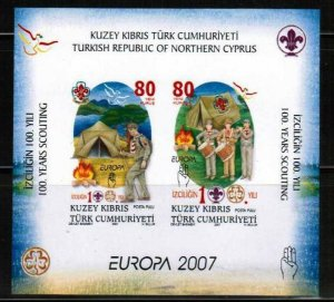2007 SCOUTS BLOCK - UMM - TURKISH CYPRUS