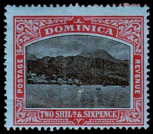 Dominica Scott 63 (1920) Mint H F-VF, CV $45.00 M