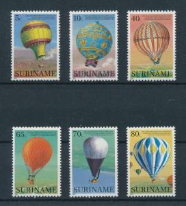[98108] Suriname Surinam 1983 Aviation Hot air balloons  MNH