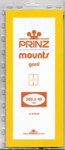 PRINZ CLEAR MOUNTS 265X46 (10) RETAIL PRICE $9.50
