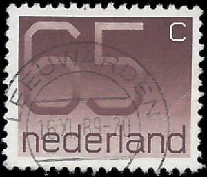Netherlands #545 1986 Used