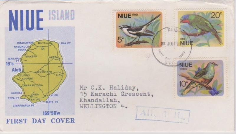 Niue - 1971 Birds First Day Cover