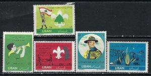 LEBANON 376-80 MOG V049