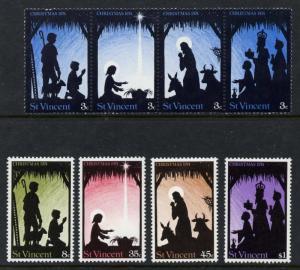 St Vincent 396a,397-400 MNH Christmas