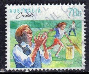 AUSTRALIA SCOTT #1111 1989  CRICKET  SEE SCAN