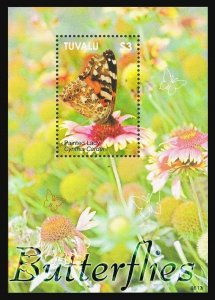 Tuvalu 1024,MNH. Butterflies 2006.Painted Lady.