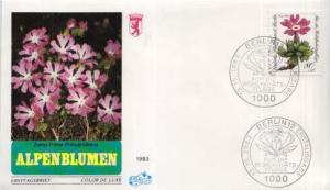 Germany, First Day Cover, Flowers